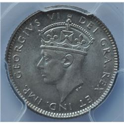 1943C Newfoundland Ten Cents
