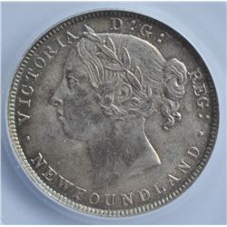 1894 Newfoundland Twenty Cents