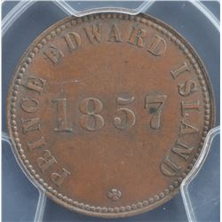 Self Government and Free Trade PEI Token, 1857