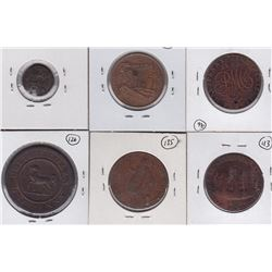 World Tokens Lot of 6