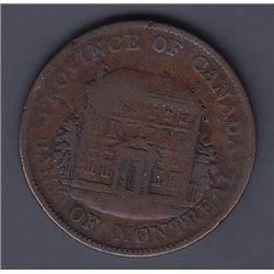 Br 527. Bank of Montreal ½ penny, 1842.