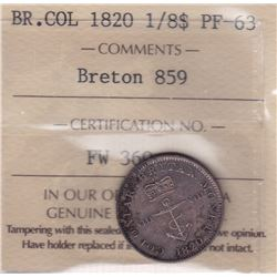 Br 859a. British West Indies Colonial ? Dollar, 1820.