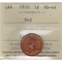 1930 One Cent