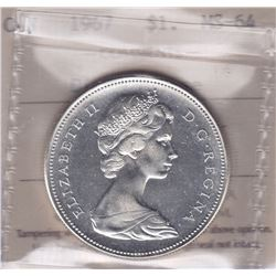 1967 Silver Dollar - Diving Goose