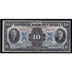 Imperial Bank of Canada $10, 1933