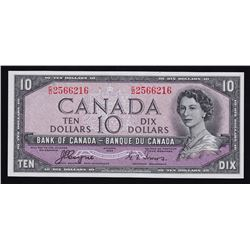 Bank of Canada $10, 1954 Devil's Face