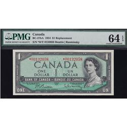 Bank of Canada $1, 1954