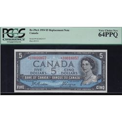 Bank of Canada $5, 1954