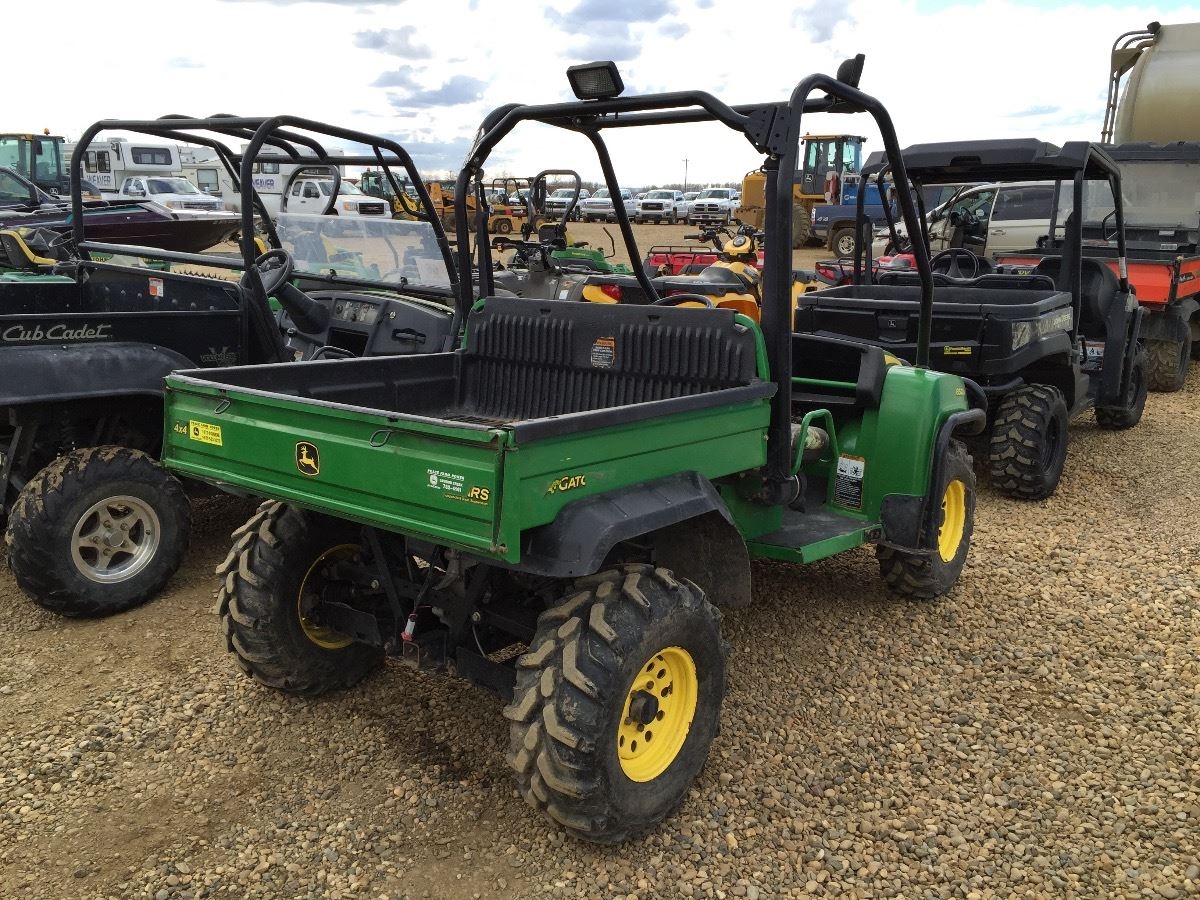 2008 john deere 850d side by side atv weaver bros auctions ltd. Black Bedroom Furniture Sets. Home Design Ideas