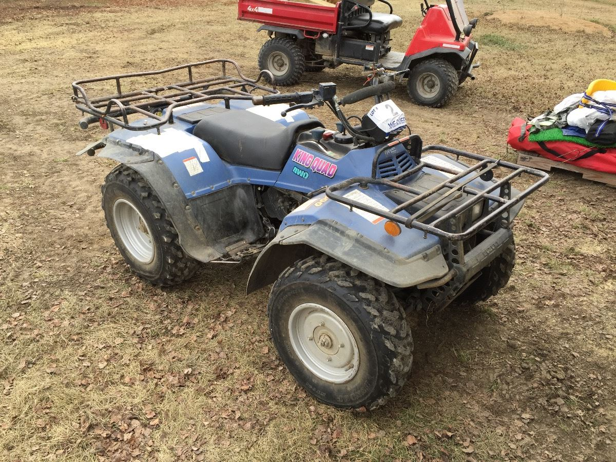 1994 suzuki king quad 300 4wd atv rh liveauctionworld com 1996 suzuki king  quad 300 repair manual 1998 Suzuki King Quad 300