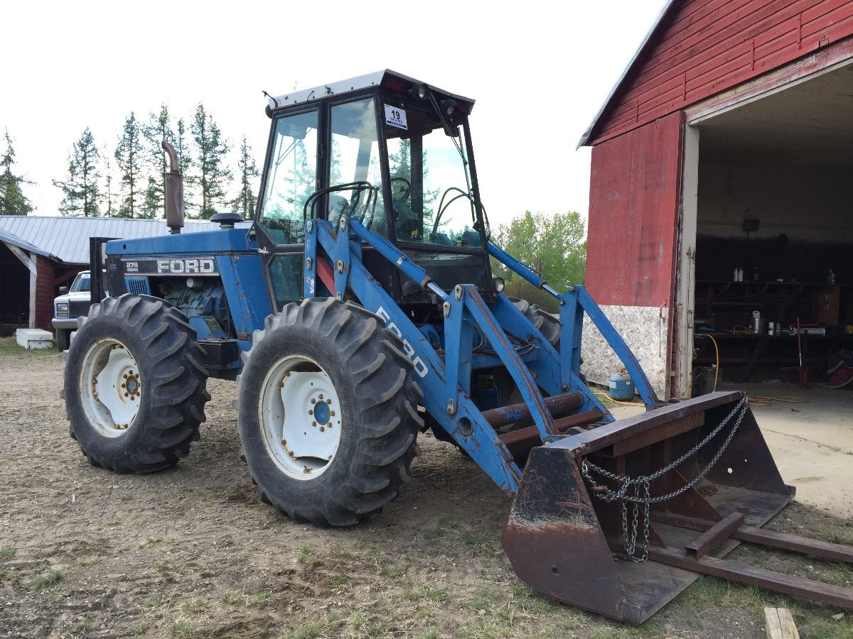 Ford Bi Directional Tractor : Ford versatile ii bi directional tractor