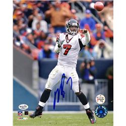Michael Vick Signed Falcons 8x10 Photo (Vick Hologram & Radtke COA)