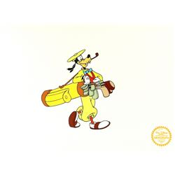 "Goofy ""How To Play Golf"" Walt Disney Limited Edition Animation Serigraph Cel"