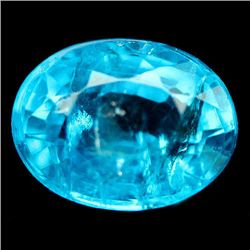 1.24 CT BLUE MADAGASCAR APATITE