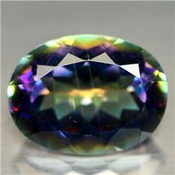 9.12 CT AZOTIC MULTICOLOR MYSTIC AFRICAN QUARTZ