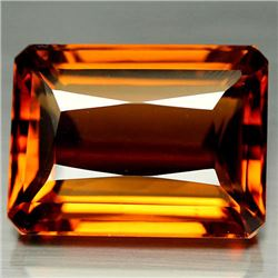 33.46 CT GOLDEN ORANGE BRAZILIAN CITRINE