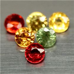 LOT OF 3.19 CTS OF FANCY COLOR SONGEA AFRICAN SAPPHIRES