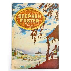 1940 BLACK AMERICANA STEPHEN FOSTER SONG BOOK