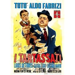Italian movie poster, Totò -  I TARTASSATI