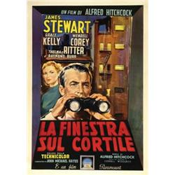 American movie poster a hitchcock la finestra sul cortile - La finestra sul cortile film ...