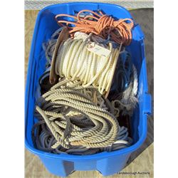 LARGE CONTAINER OF ROPE