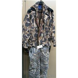 BOX LOT CAMO CLOTHING