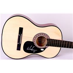 Alice Cooper Signed Acoustic Guitar (JSA Hologram)
