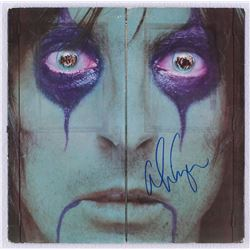"Alice Cooper Signed ""From the Inside"" Record Album Cover (JSA COA)"