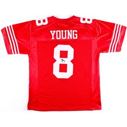 Steve Young Signed 49ers Jersey (JSA COA)