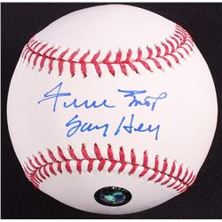 "Willie Mays Signed OML Baseball Inscribed ""Say Hey"" (Sports Integrity Hologram & Mays Hologram)"