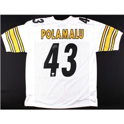 Troy Polamalu Signed Steelers Jersey (JSA Hologram & TSE COA)