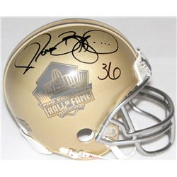 Jerome Bettis Signed Hall of Fame Mini-Helmet (JSA)