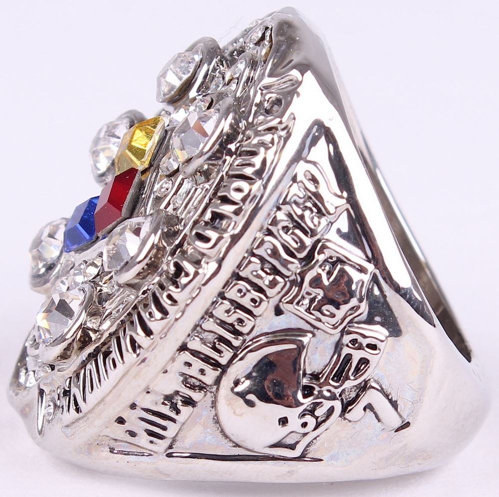 2008 NFL Super Bowl XLIII Pittsburgh Steelers Championship Ring