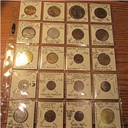 (20) interesting Token and medals including 1927 Charles Lindberg Plane, Mount Rushmore, Pioneer Vil