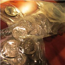 (37) 1965 P SMS U.S. Quarters in original cellophane.