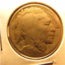 1926 D Buffalo Nickel. G-4. Scarce date.