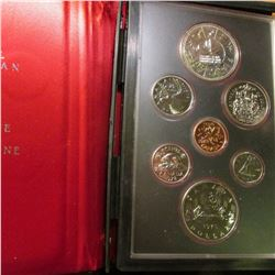 1978 Commonwealth Edmonton Royal Canadian Proof Set with Silver Dollar as well as Voyageur Dollar. O