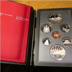 "1834-1984 Canada ""Toronto Sesquicentennial"" .500 fine Silver Proof Set with both Voyageur and Commem"