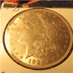 1921D Morgan $ Better Date CH.BU