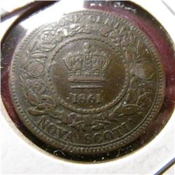 1861 Nova Scotia Cent. Fine.