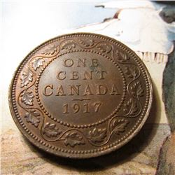 1917 Canada Large Cent. Brown Unc.