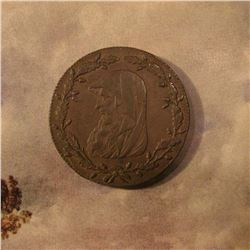 1788 Anglesey Mines Great Britain Conder Half Penny Token. Brown AU.