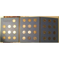 1953-1981 Partial Set of Canada Quarters in a blue Whitman folder. Lots of Silver in this set.