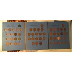 1921-65 Partial Set of Canada Small Cents in a blue Whitman folder.