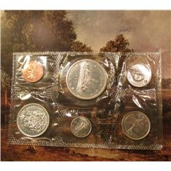 1965 Canada Proof-like Silver Set in original cellophane. (6 pcs.).