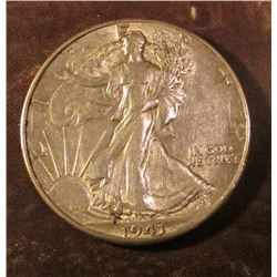 1941 P Walking Liberty Half Dollar. EF.
