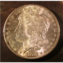 1878 S Morgan Silver Dollar. Brilliant Uncirculated.