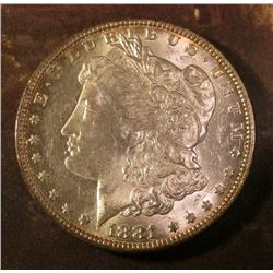 1881 New Orleans Mint Morgan Silver Dollar. Brilliant Uncirculated.
