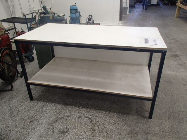 Steel Frame Work : Shelf steel frame work bench  quot btm industrial