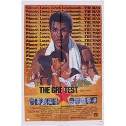 "Muhammad Ali Signed ""The Greatest"" 27x41 1977 Original Movie Poster (JSA LOA)"
